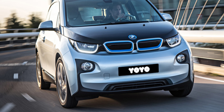 Elektriğin en çarpıcı hali BMW i3, sadece YOYO'da!