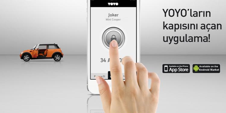 YOYO'da anahtarın, cep telefonun!