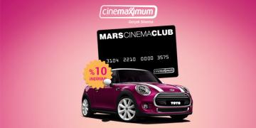 Mars Cinema Club Kart Kampanyası